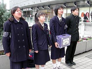 小倉西高等学校制服画像